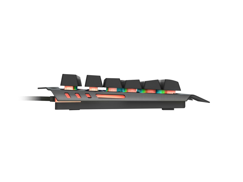 GENESIS RHOD 420 laidinė membraninė klaviatūra su rgb apšvietimu (US)