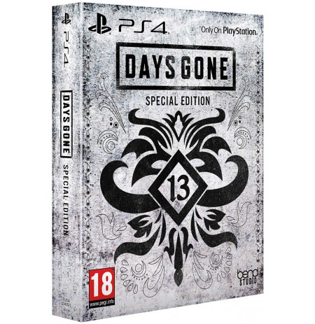 Days Gone Special Edition + Preorder bonus PS4