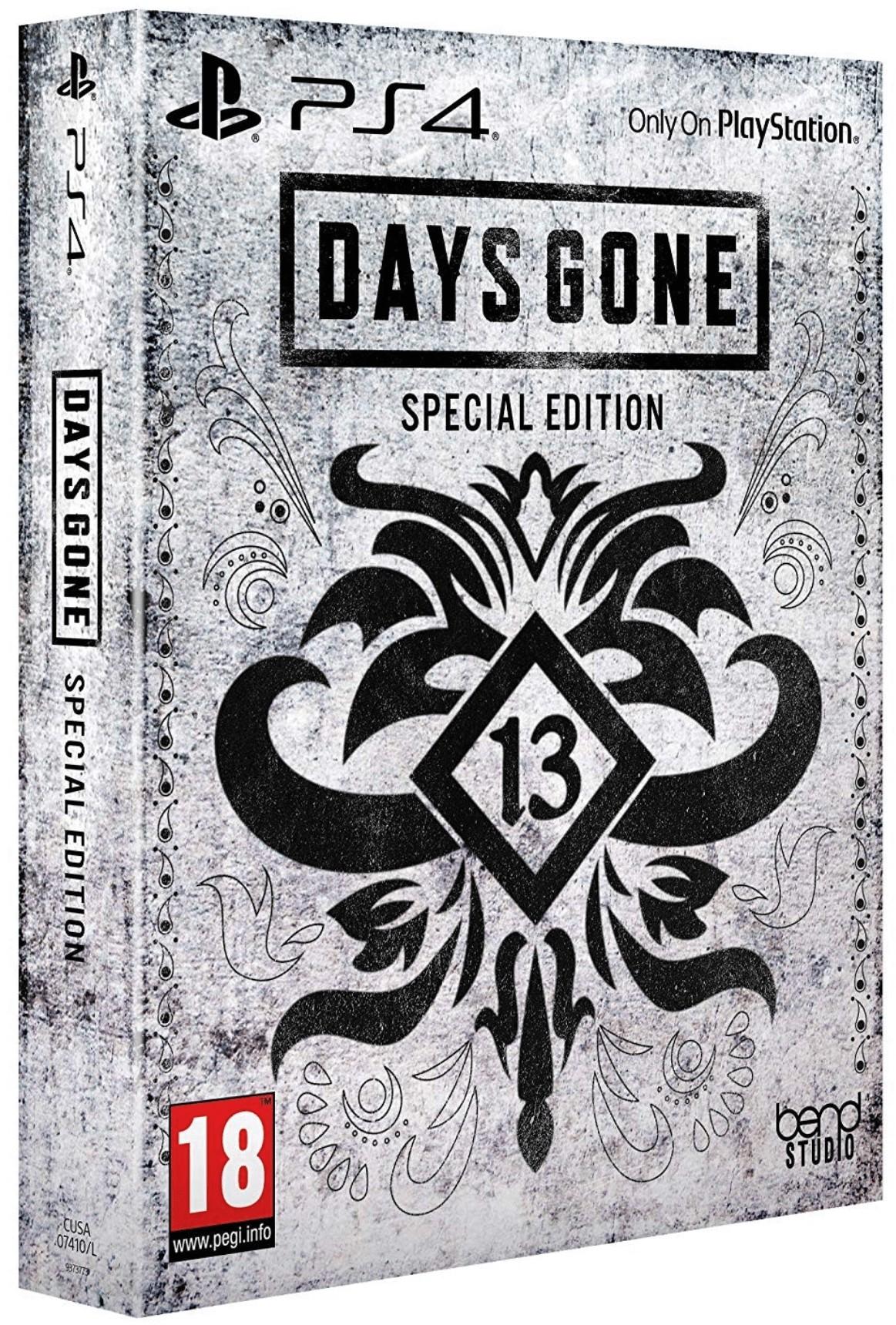 Days Gone Special Edition + Preorder bonus PS4