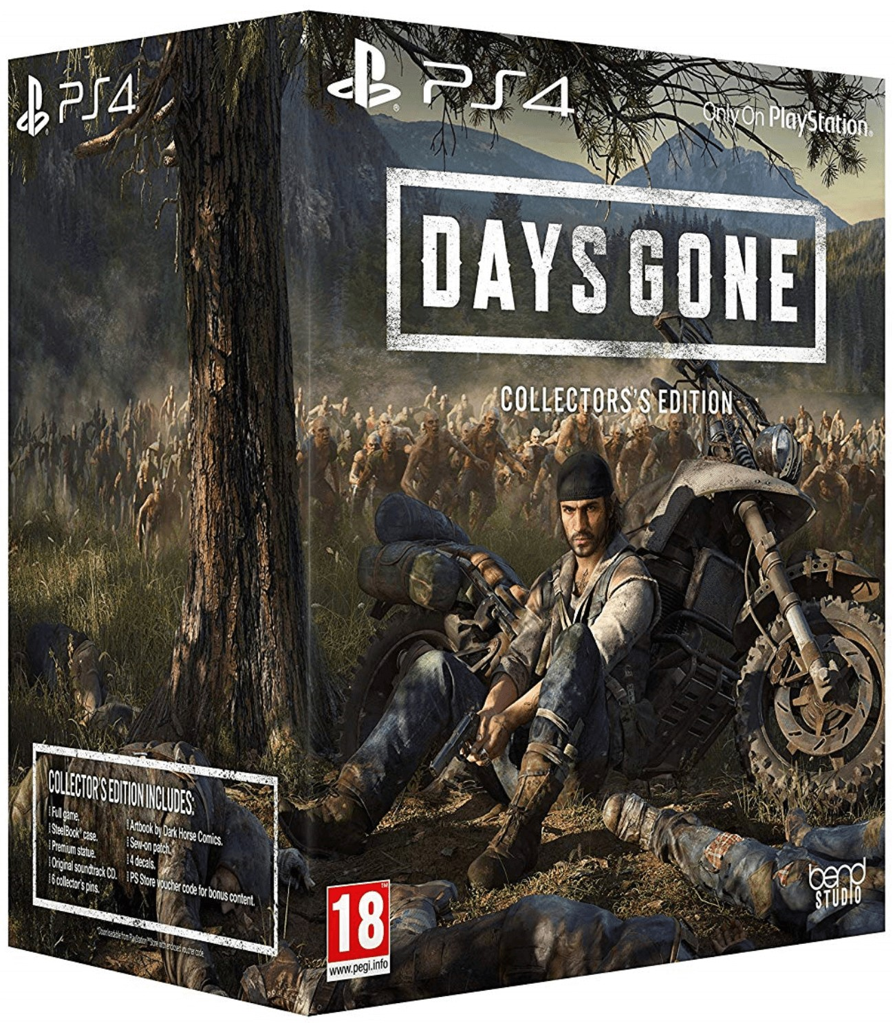 Days Gone Collectors Edition + Preorder bonus PS4