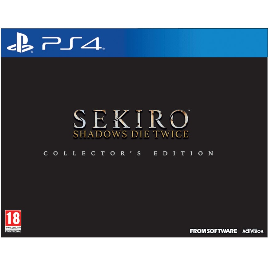 Sekiro: Shadows Die Twice Collector's Edition PS4