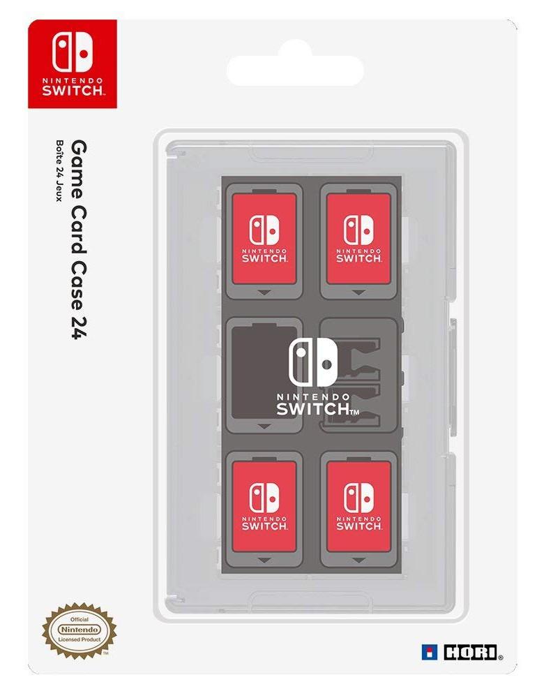HORI Switch Game Card Case - Clear
