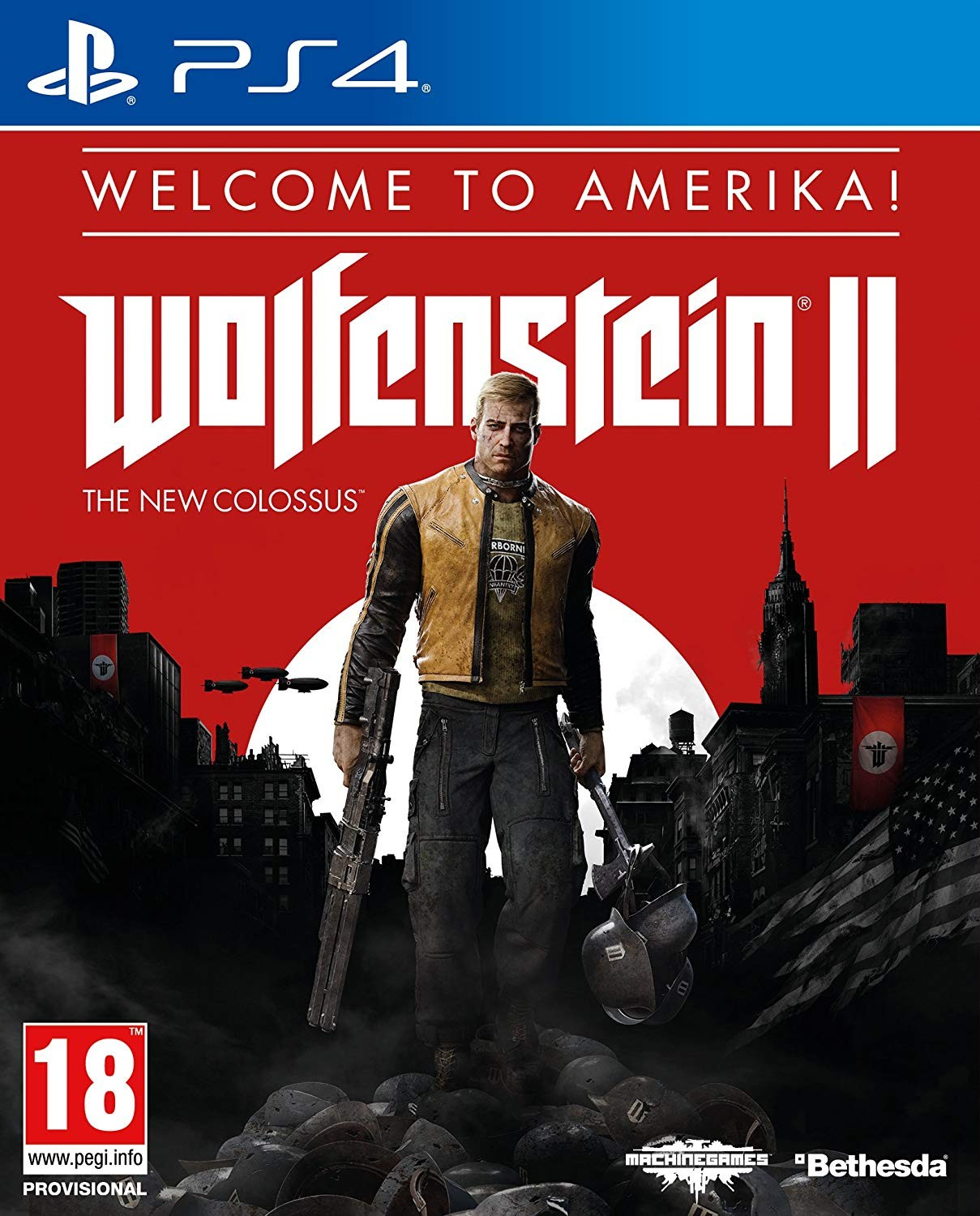 Wolfenstein II: The New Colossus Welcome to Amerika PS4