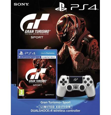 Gran Turismo: Sport + PlayStation DualShock 4 valdiklis GT