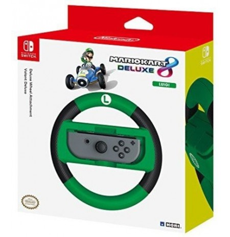 Mario Kart 8 Deluxe Racing Wheel (Luigi) for Nintendo Switch
