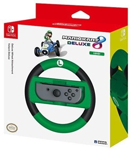 Mario Kart 8 Deluxe Racing Wheel (Luigi) for Nintendo Switch