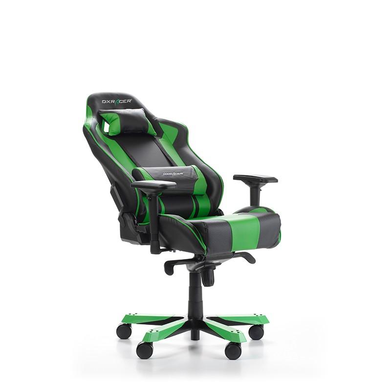 DXRACER KING SERIES K06-NE žalia ergonominė kėdė