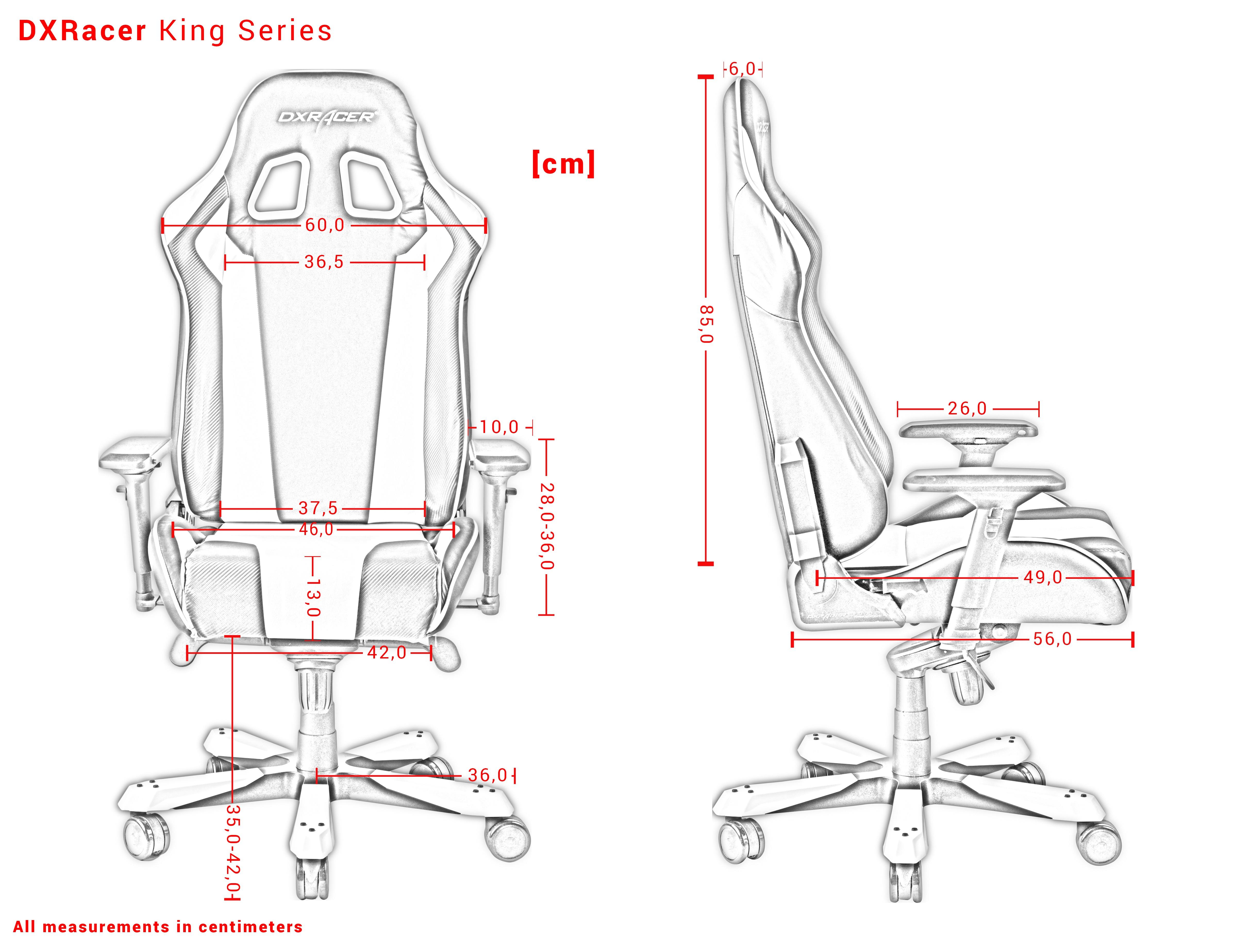 DXRACER KING SERIES K06-NE GREEN GAMING CHAIR
