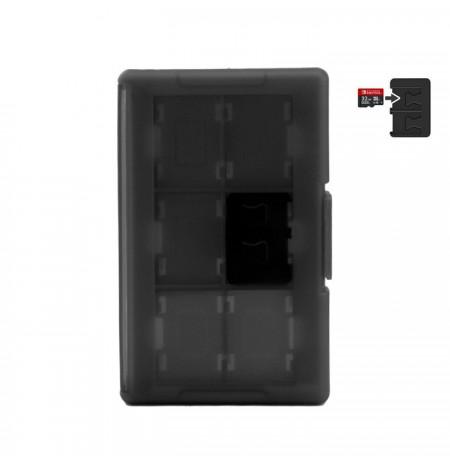 Nintendo Switch 12 žaidimu diskelių juodas dėklas
