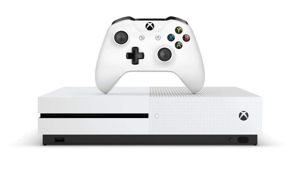ŽAIDIMŲ KONSOLĖ Xbox One S 1TB balta + Forza Horizon 4