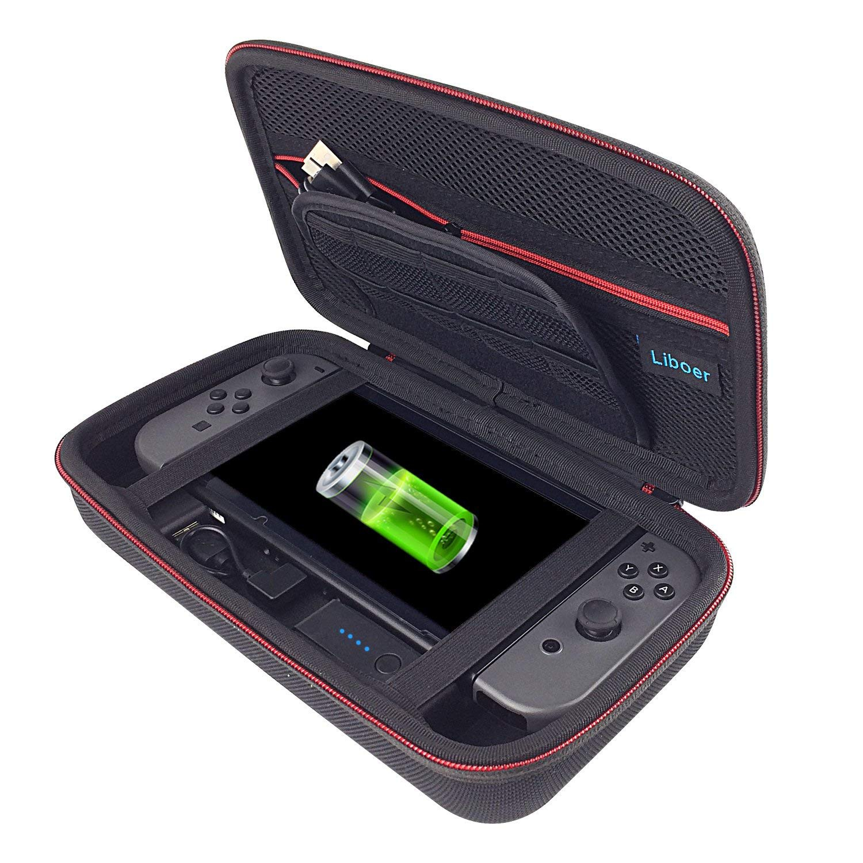 Nintendo Switch dėklas su integruotu 8000mah Power Bank