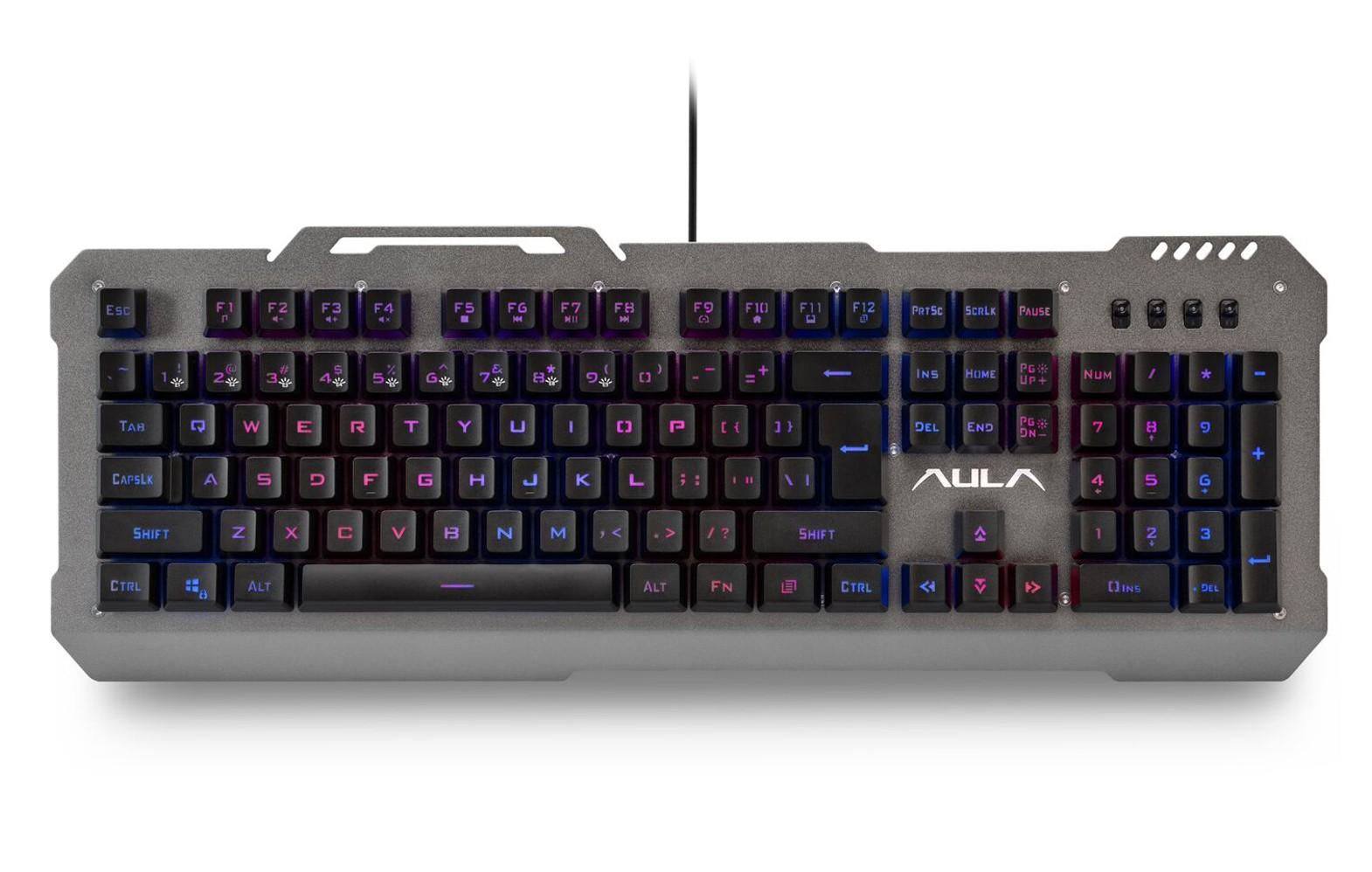 AULA Moon Slasher laidinė membraninė klaviatūra US