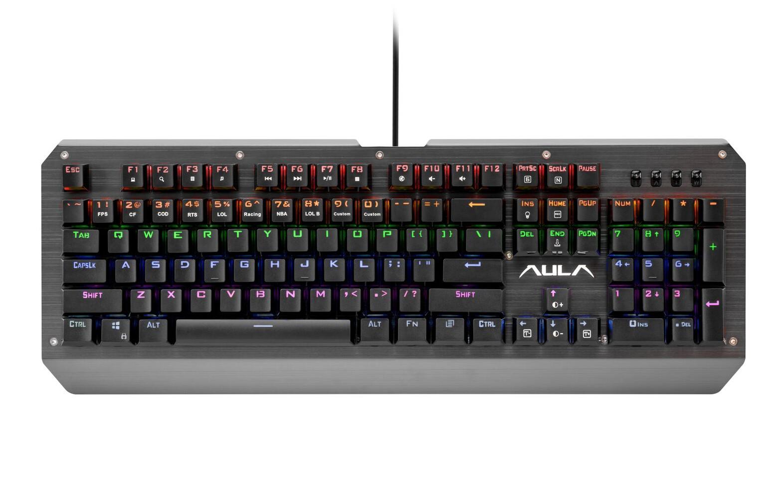 ULA Mechanical Assault Wired Keyboard US