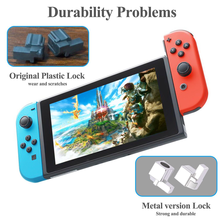 Metaliniai Joy-Con fiksatoriai skirti Nintendo Switch