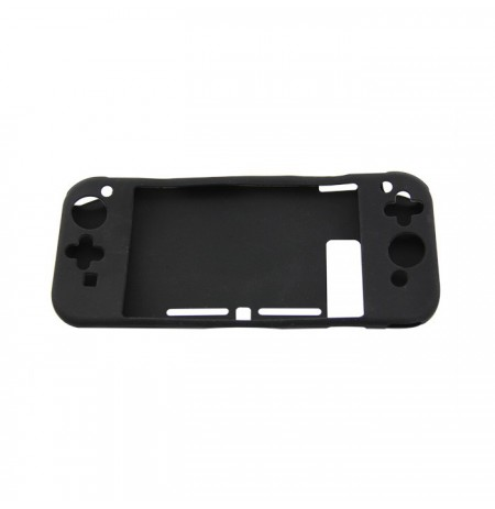 non-slip Full Silicon Case for Nintendo Switch Console (black)
