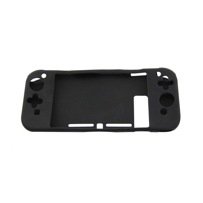 non-slip Full Silicon Case for Nintendo Switch Console (black)
