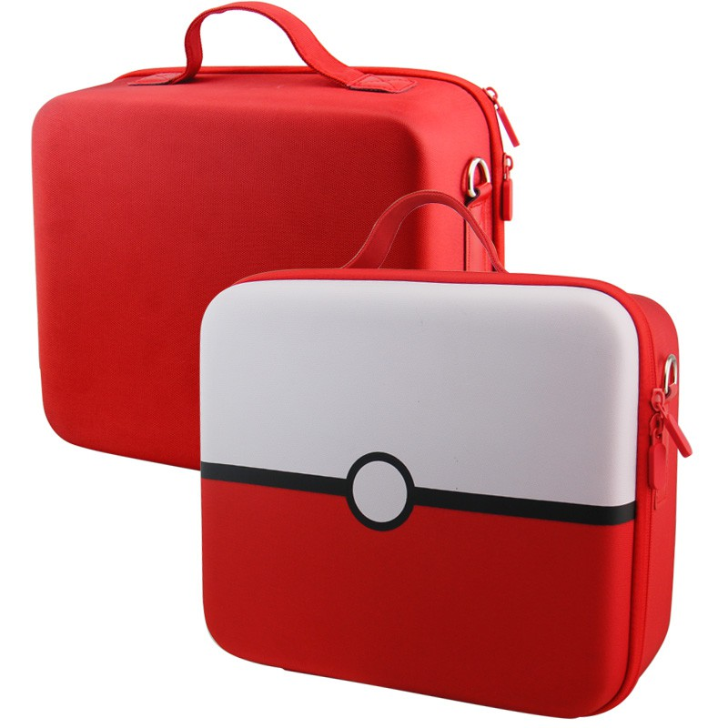Nintendo Switch dėklas (juoda-raudona)