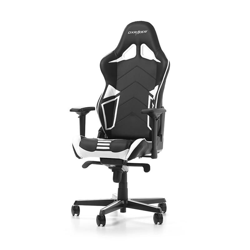 DXRACER RACING PRO SERIES R131-NW balta ergonominė kėdė