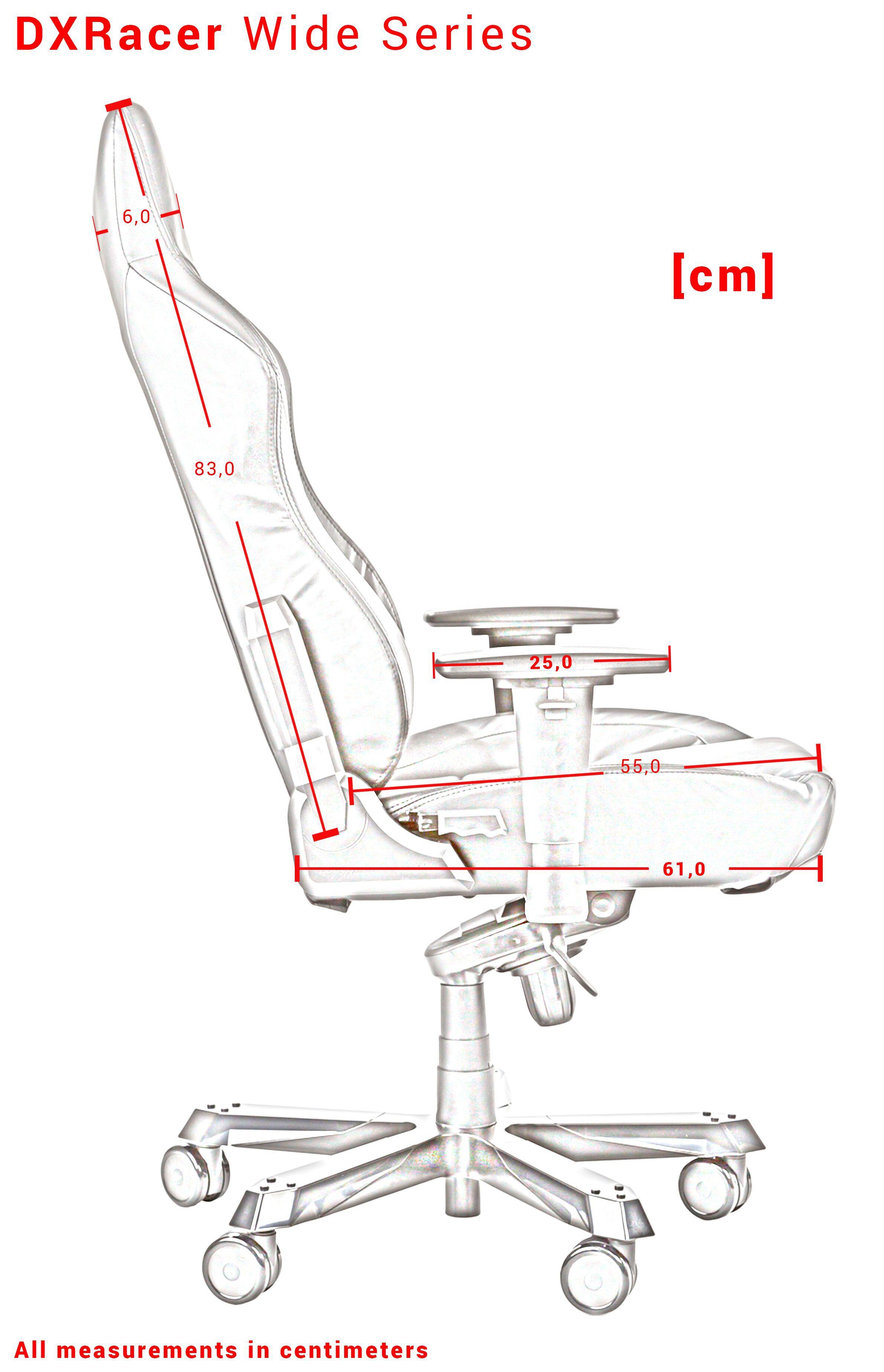 DXRACER WORK SERIES W0-N juoda ergonominė kėdė