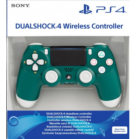 Sony PlayStation DualShock 4 V2 Controller - Alpine Green