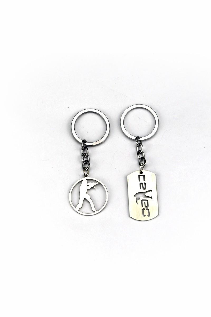Counter-Strike: Global Offensive metal keychain