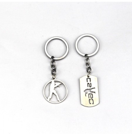 Counter-Strike: Global Offensive metal keychain