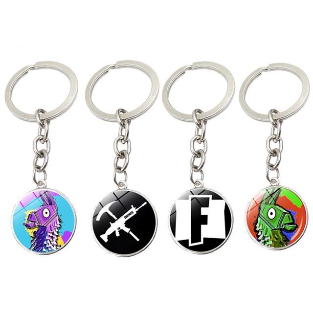 Fortnight  metal keychain