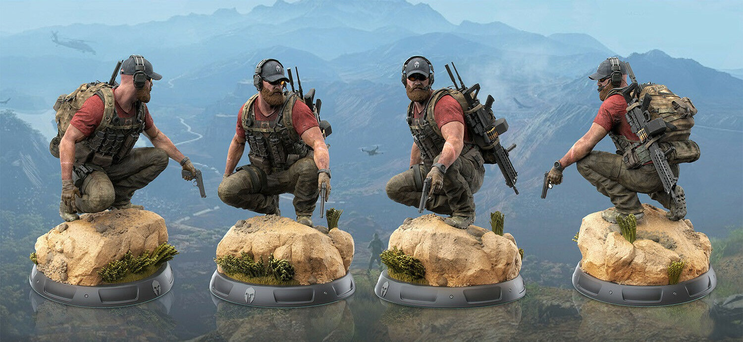 Ghost Recon: Wildlands Ghost Edition statula| 30 cm