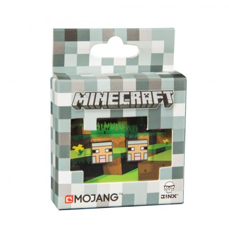 MINECRAFT SHEEP STUD EARRINGS