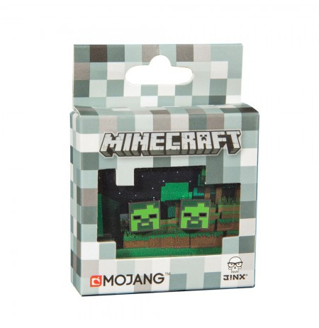 MINECRAFT ZOMBIE STUD EARRINGS