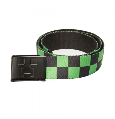 Minecraft Creeper Web BELT L/XL