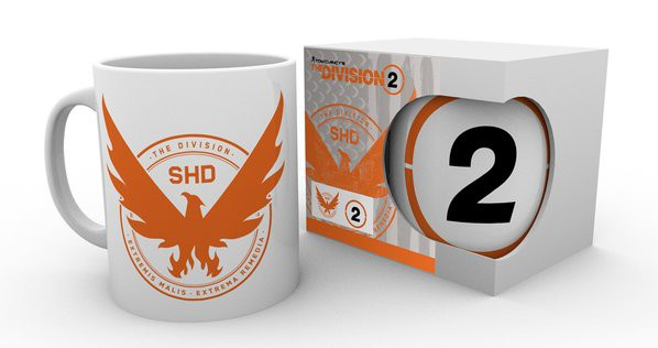 THE DIVISION 2 Logo puodukas