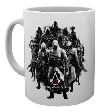 ASSASSINS CREED 10 Years mug