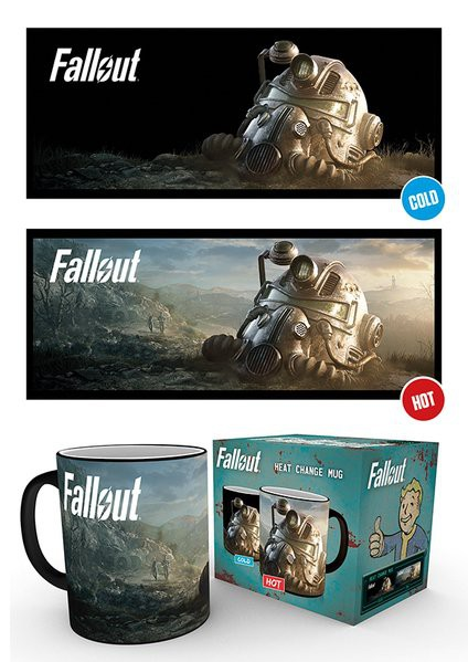 FALLOUT 76 Dawn heat change mug