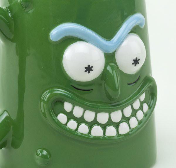 RICK AND MORTY Pickle Rick 3D Mug