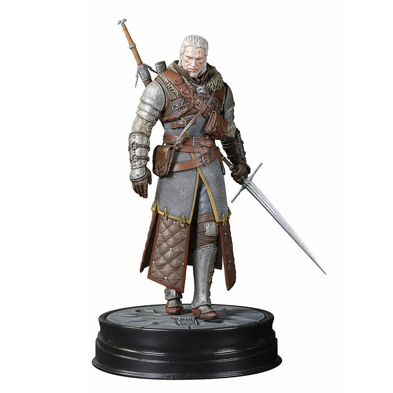 THE WITCHER 3 - The Wild Hunt Geralt Grandmaster Ursine statula | 20cm