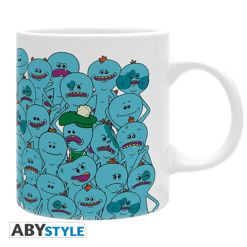 "RICK AND MORTY -  320 ml - ""Meeseeks"" mug"