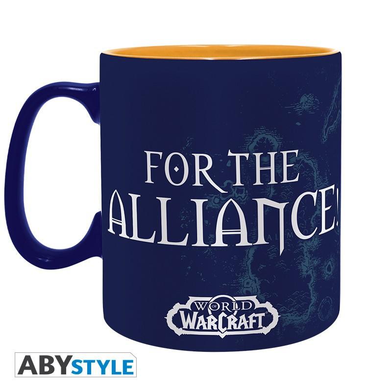 WORLD OF WARCRAFT - 460 ml - Alliance puodukas