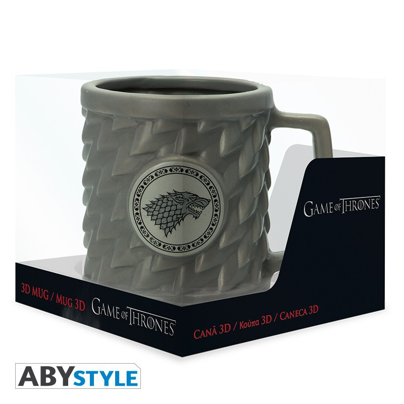 GAME OF THRONES STARK  3D Mug