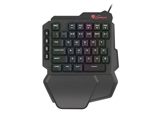 GENESIS THOR 100 RGB mechaninė klaviatūra (US) (RED)