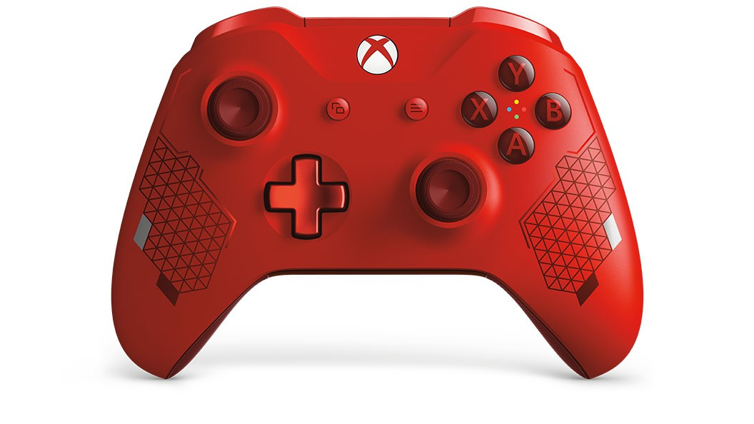 Xbox One Wireless Controller - Sport Red Special Edition