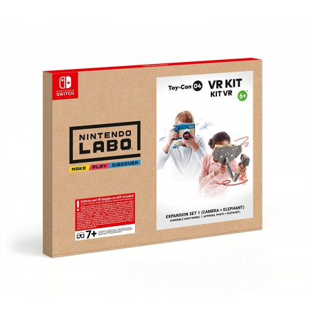 Nintendo LABO Toy-Con 04: VR Kit - Expansion Set 1 (Camera + Elephant)