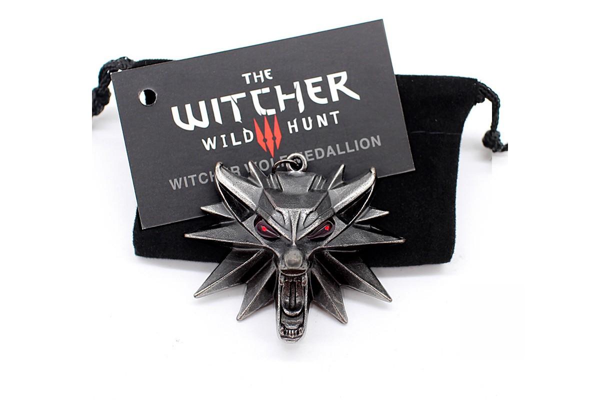 Witcher 3 Wolf metalinis pakabukas