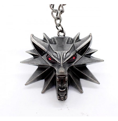 Witcher 3 Wolf metal necklace