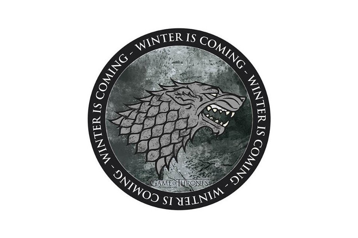GAME OF THRONES  Stark 210x210x3mm Mousepad