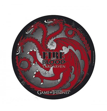 GAME OF THRONES Targaryen 210x210x3mm Mousepad
