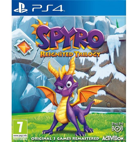 Spyro Trilogy Reignited PS4