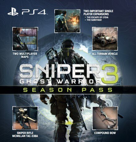Sniper: Ghost Warrior 3 - Season Pass Edition