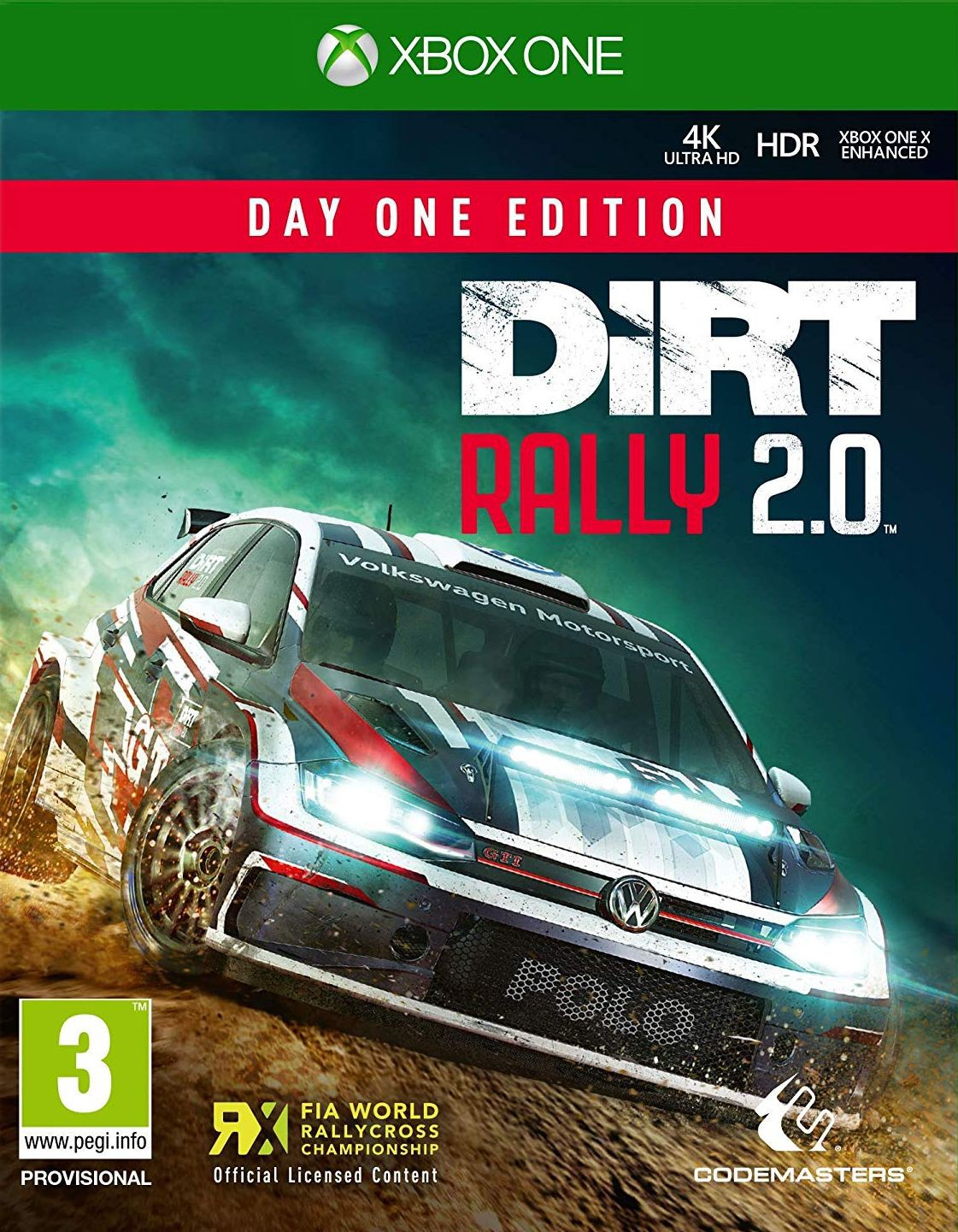 DiRT Rally 2.0 Day One Edition XBOX