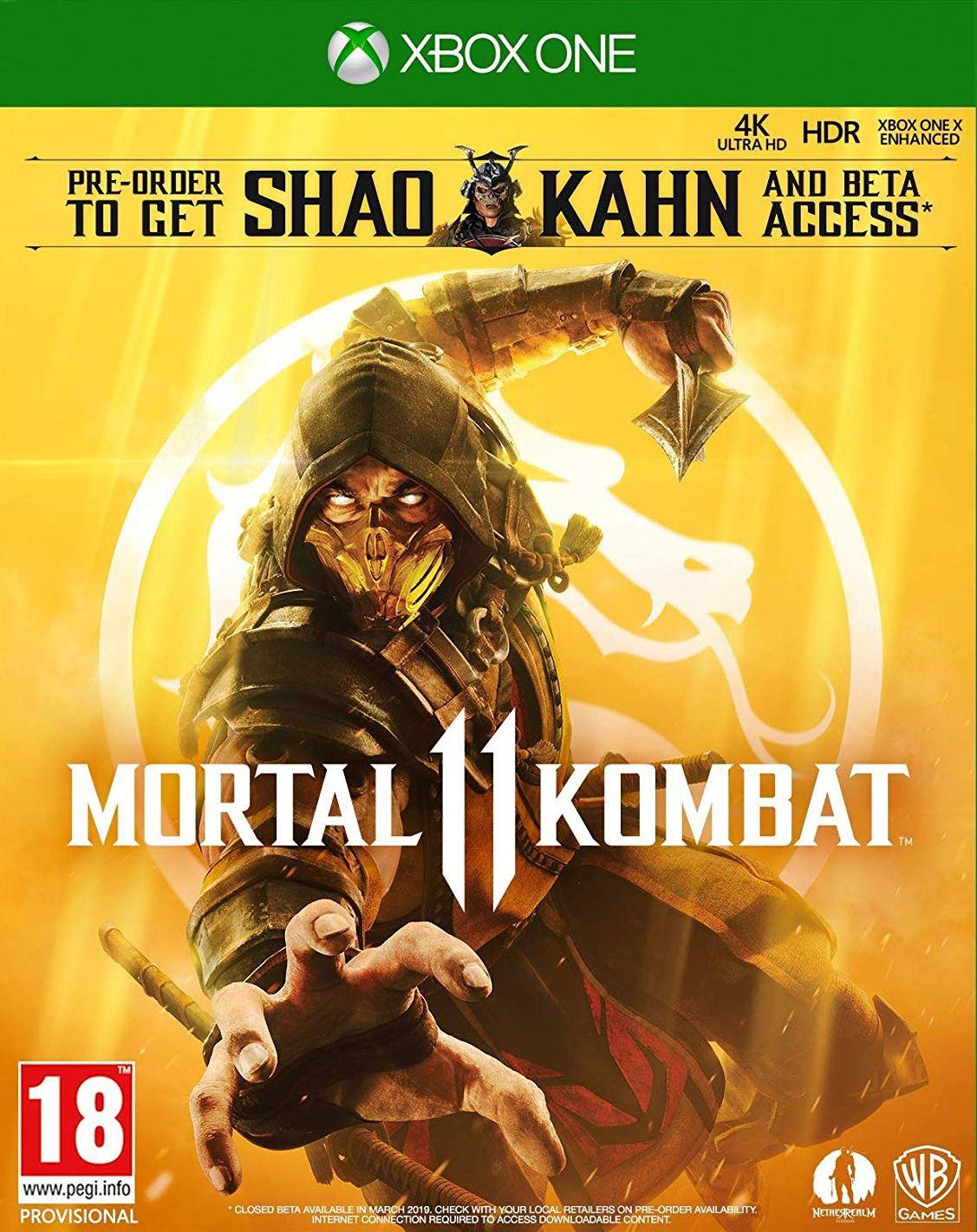 Mortal Kombat 11 XBOX